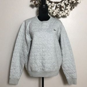 Lacoste Live Quilted Sweatshirt